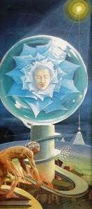 Tonino Dal Re - La rosa azzurra - 1982