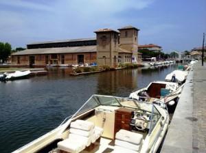 Cervia, porto canale e magazzino del sale