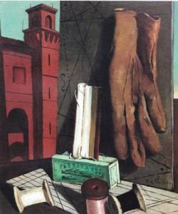I progetti della fanciulla - Giorgio De Chirico - 1915