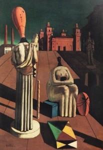 Le muse inquietanti - Giorgio De Chirico - 1918